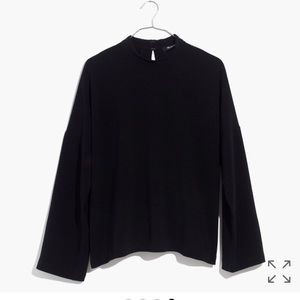 Madwell modern mock neck top